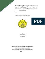 Proposal Data Mining