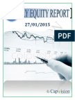 Daily Equity Report 27-01-2015