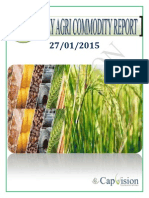 Weekly Ncdex Report 27-1-2015