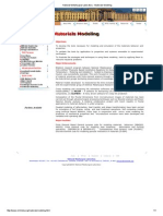 National Metallurgical Laboratory - Materials Modeling