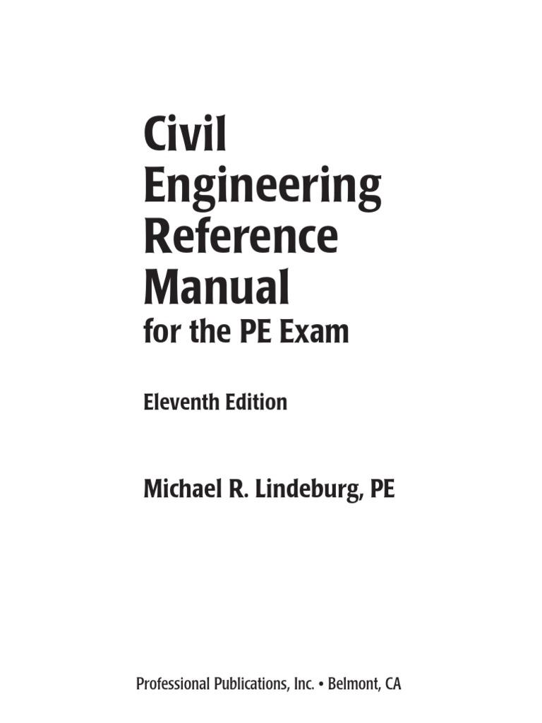 Part 79 PE Exam | Volume | Road