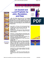 Enoch Quoted and Called Prophetic by John, Revelation, And Peter