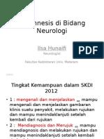 Anamnesis Di Bidang Neurologi