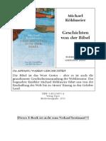 Kohlmeier, Michael - Geschichten von der Bibel