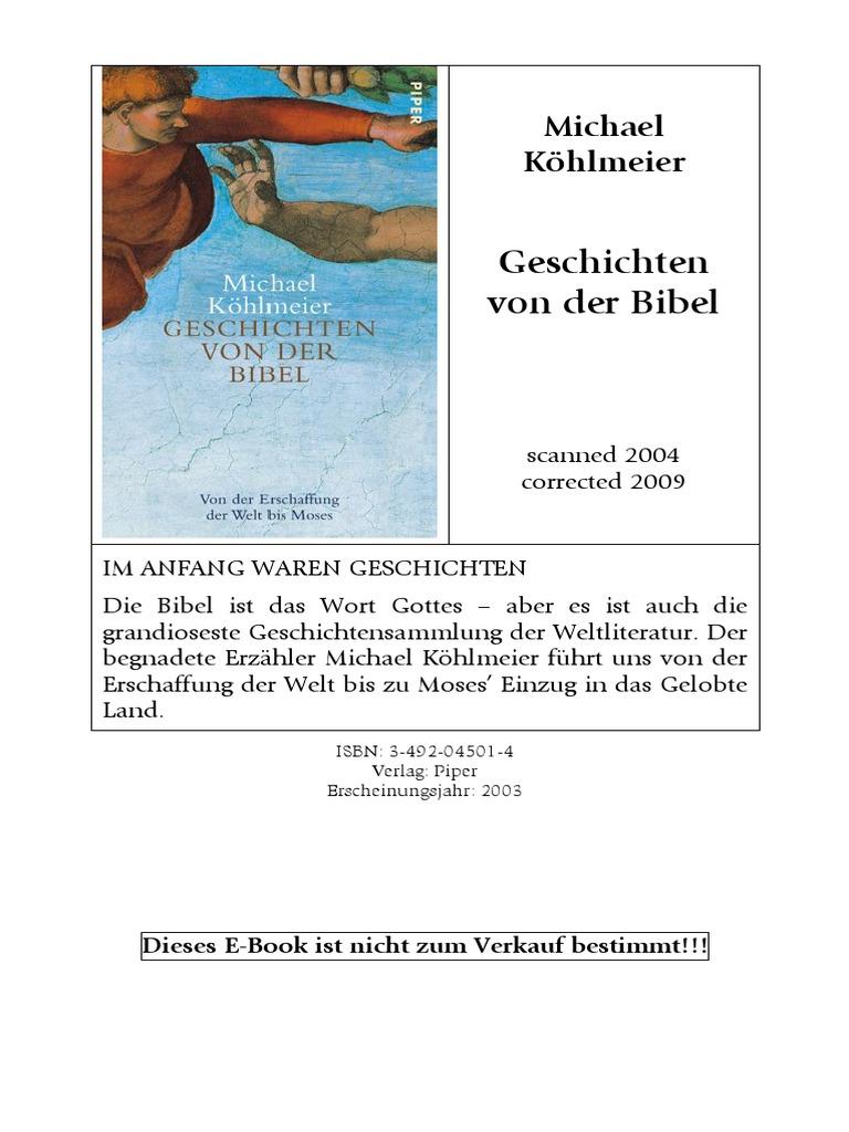 Kohlmeier Michael Geschichten Von Der Bibel Adam And