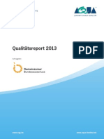 AQUA Qualitaetsreport 2013