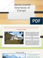 Famous Tourist Attractions of Europe