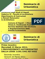 Seminario - Incontro Del 23 Marzo 2011