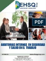 Auditorias en Seguridad y Salud en El Trabajo