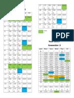 Kalendar Persekolahan 2015 One