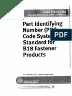 ASME B18.24-2004 - B18 Fastener Products