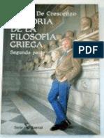 De Crescenzo Luciano - Historia de La Filosofía Griega (de Sócrates en Adelante)