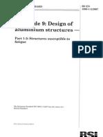 EN_1999!1!3 Eurocode 9-Design of Aluminium Structures-Part 1-3-Structures Susceptible to Fatigue