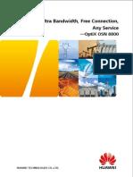 OptiX OSN 8800 Brochure