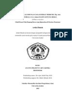Profil Kandungan Logam Berat Merkuri ( Hg