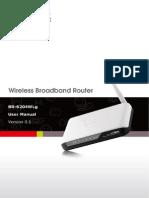 BR 6204WLg Manual