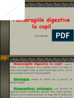 Hemoragiile Digestive La Copil