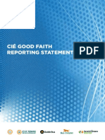 1398694069 CIE Good Faith Reporting Statement