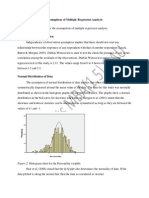 _Assumptions of Multiple Regression Analysis