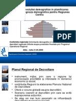 Yhrjo_Importanta Evolutiei Demografice in Planificarea Regionala - Prognoza Demografica Pentru Regiunea Centru