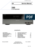 Harman Kardon AVR355 Service manual