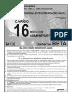 Anatel Cargo 16 Cad Beta