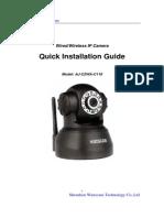 Wanscam Quick Setup Guide of IP Camera 12-03-15