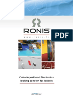 RONIS Coin Deposit and Electronics Locking Solution for Lockers