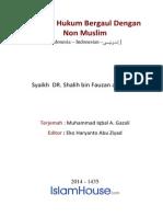 Hukum Hukum Bergaul Dengan Non Muslim