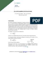 Solucion Numerica de Ecuaciones