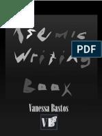 Asemic Writing Book