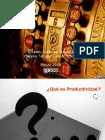09 Indicadores Productividad