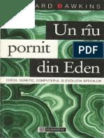 Richard Dawkins-Un Riu Pornit Din Eden-Humanitas (1995)