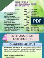 Interaksi Obat Antidiabetes