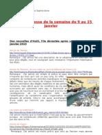 revue de presse de termijale du 11 au 17 janvier par manon et sophie anne