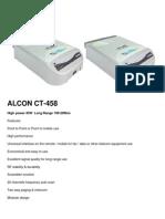 ALCON CT-458 Spec in PDF Www.shop-wifi.com
