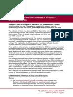 Ebola Risk Assessment