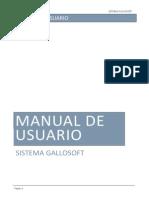 Gallo Soft Manual