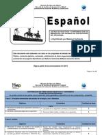 Plan 2015 Bachillerato