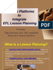 Integrating Blogs Into Lesson Planning
