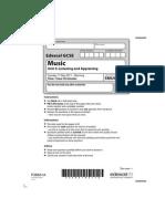gcse music 5mu03 past paper 2011