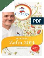 Recetario Chango Zafra 2014