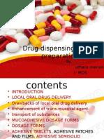 4 Drug Dispensing in Oral Preparation