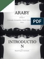 Araby Report