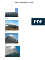 Volcanes Más Importantes de Guatemala