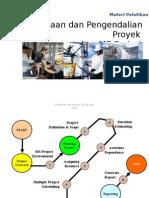 Perencanaan Dan Pengendalian Proyek Menggunakan MS Project