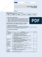 45 Evaluarea Firmei D34
