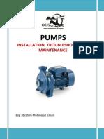 Pumps Installation, Troubleshooting & Maintenance