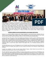 UAM Congress 2010 Press Relase 1 NAMSSA Web Site