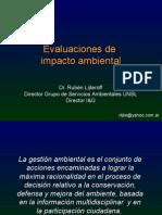 Capacitación Evaluaciones de Impacto Ambiental